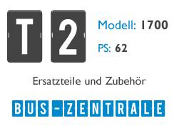 T2 1700 62PS