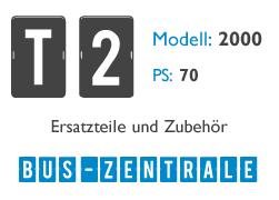 T2 2000 70PS