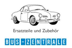Ersatzteile für VW Karmann Ghia