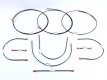 Bremsleitung Set 10-teilig für VW T3 Baujahr 08/1985 bis 07/1987