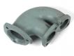 Abgaskrümmer Y-Stück Sammler Verbindungsrohr für VW T3 WBX 1.9 und 2.1