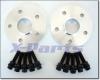 Spurverbreiterung Set 20 mm mit Radschrauben schwarz für VW T5