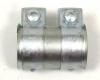 Auspuff Universal Rohrverbinder Doppelschelle Ø 50 - 54 mm L = 90 mm