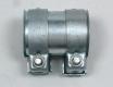 Auspuff Universal Rohrverbinder Doppelschelle Ø 55 - 60,5 mm L = 88 mm