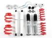 Gewindefahrwerk Gasruckdämpfer inkl. EU-Gutachten TA TECHNIX für den VW Bus T3